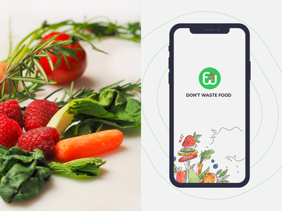 Don't Waste Food ui design inspiration ux design appdesign app design design layout concept business dribble