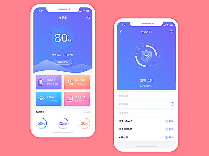 Mobile Guardian App