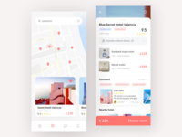 Hotel App UI 2