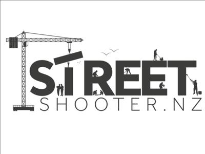Street Shooter NZ Logo Design