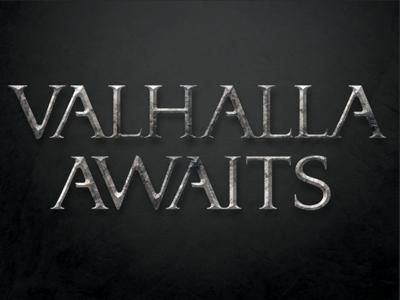 Valhalla Awaits Logo