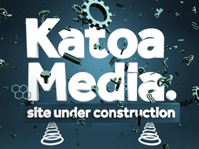 Katoa Media site under construction