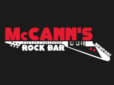 McCann's Rock Bar logo Design