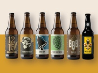 Lincolnshire Brewing Co. - Label Collection