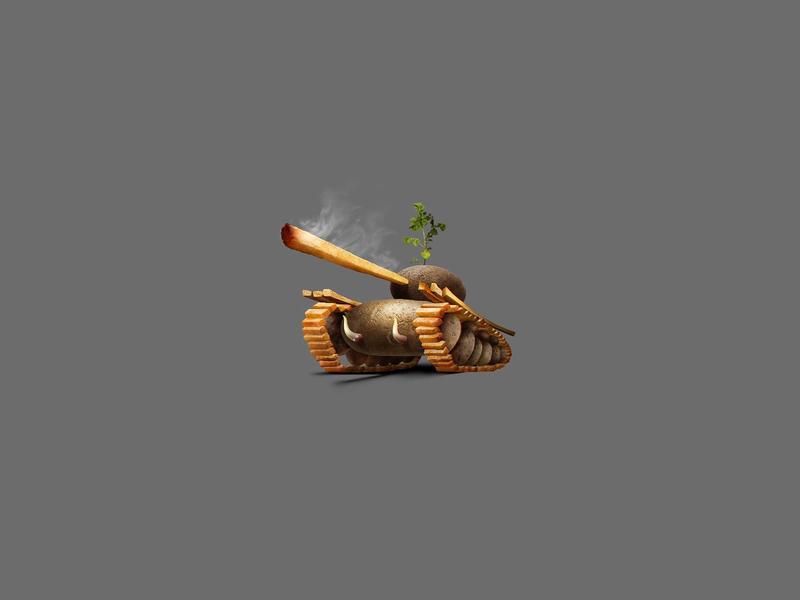 Potato-Tank icon