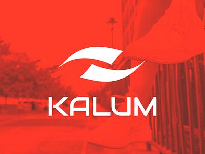 Kalum v1 logo design brand logotype