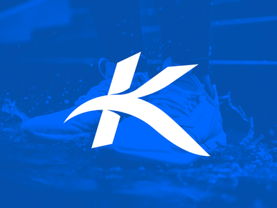 Kalum v2 icon perspective monogram typography type logo design brand