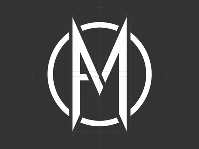 Alternative Mission Logo logotype typography type design brand grid letter monogram logo