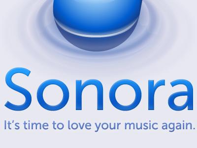 Sonora. Music App for Mac Alpha