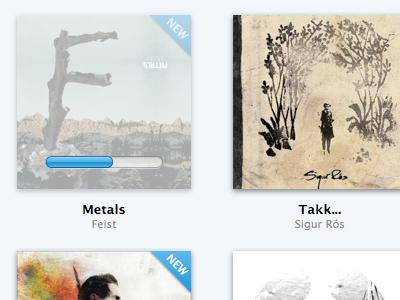 Importing albums music app os x mac albums progress bar ui
