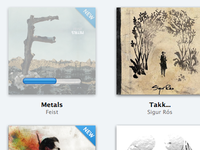 Importing albums