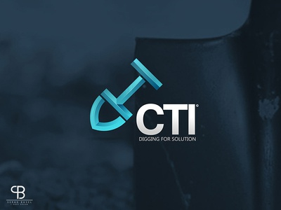 cti initiative typo basel serag cti solution idea digging pfizer initiative creative brand logo