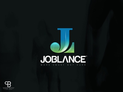 joblance.com باسل سراج basel serag freelance logo brand lance blue hunter stronge archer