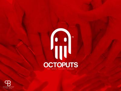 octoputs studio basel serag ratio golden presentation space nagative creative logo hand studio octoputs
