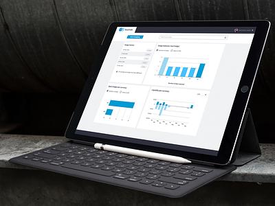 Finance Dashboard interface ui platform graph data visualization dashboard banking finance