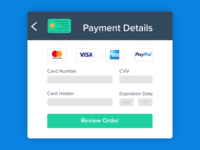 Daily UI #02: Credit Card Checkout