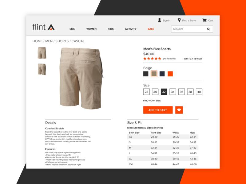 Daily UI #12: E-Commerce Shop clothing ecommerce shopping uidesign dailyui012 ui dailyui