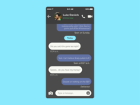 Daily UI #13: Direct Messaging