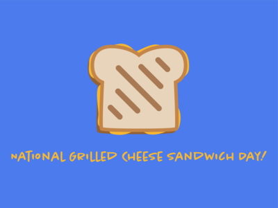 Oh Grate, Another Grilled Cheese Day Post