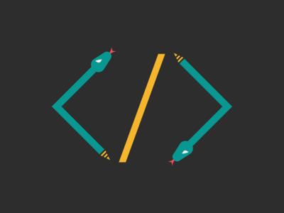 Snake / Web Developer Logo Idea