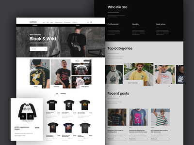 Express Beyond typography website ux ui design