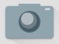 Material camera icon design