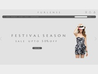 minimalistic webpage