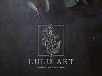 Logo Design - Lulu Art - Flower Decorations