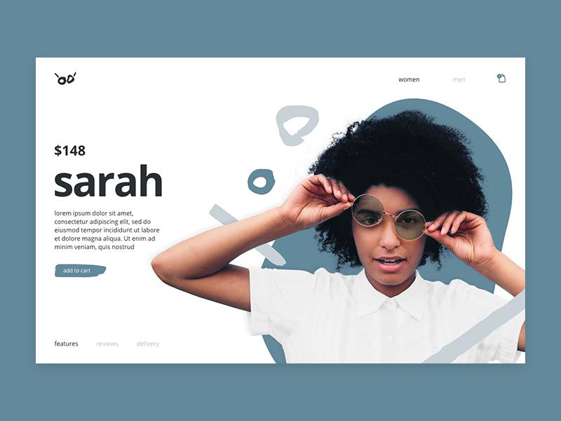 Abstract Glasses contemporary minimal website web ui logo branding design