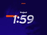Project 1:59 Branding