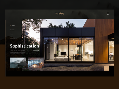 Architecture Real Estate Agency landing page design real estate realestate architecture website design webpage typography web landing landing page website webdesign