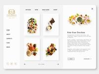 Fine Dining Restaurant UI/UX Design
