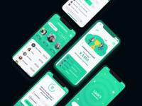 Golf Trivia Game UI/UX Concept