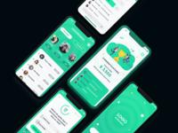 Sport Trivia Game UI/UX Concept Adobe XD