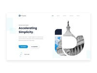 Information Technology Website Concept
