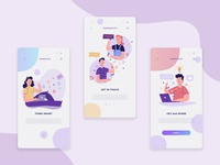 Inspiration and Social app For designers and Developers Concept