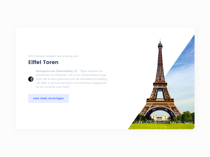 ✈️ Travel Platform Header paris website design sketch desktop header ui ux travel