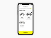 2. select a bike