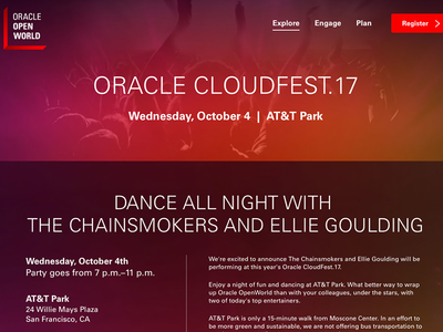 Oracle's Cloudfest17