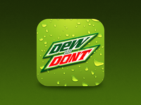 Dew or Don't Alt Icon