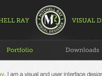 New Portfolio Header/Nav