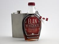 Élan Whisky Bottle