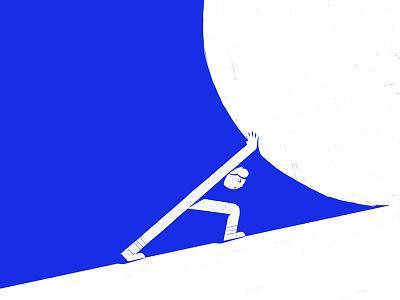 Snowball procreate ipadpro sketch 2d illustration design snowball