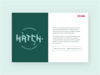 Hatch branding & flyer