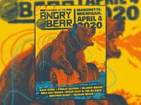 Angry Bear Poster 2020