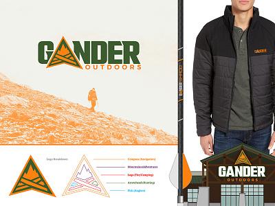 Gander Outdoors Concept 2 design outdoors gander vector logo