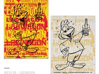 52 Random Gig Posters - Week 8