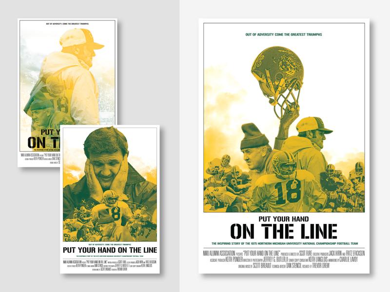 Alumni Film Poster Concepts illustration poster design