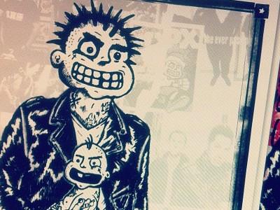 MXPX 20th Anniversary Show Poster mxpx punk rock punk rock illustration pen pencil pen and ink collage photoshop