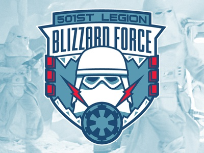 Snowtrooper Badge badge design galaxies edge empire jedi snowtrooper stormtrooper starwarsday starwars star wars